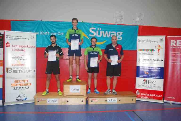Herren-B-Einzel 2.-Platz: Christos Marchwicki