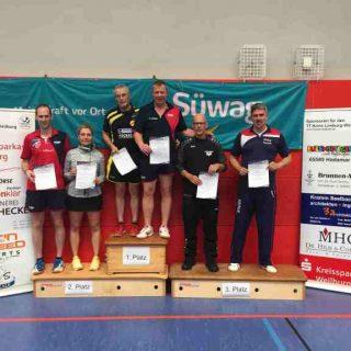 KEM 2019 - Senioren 40 Doppel - 3. Platz Christian Rompel